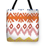 Navajo Missoni IIi Tote Bag by Nicholas Biscardi