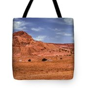 Navajo Nation Series Along Arizona Highways Tote Bag