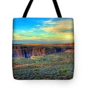 Navajo Sunset Tote Bag
