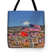 Navajo Veteran's Memorial Cemetery Tsehootsooi Tote Bag