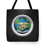 Naval Special Warfare Group Three - Nswg-3 - On Black Tote Bag