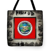 Naval Special Warfare Group Three - N S W G-3 - Over Navy S E A Ls Collage Tote Bag