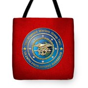 Naval Special Warfare Group Two - N S W G-2 - On Red Tote Bag