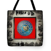Naval Special Warfare Group Two - N S W G-2 - Over Navy S E A Ls Collage Tote Bag