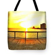 Navarre Beach Iphone Sunset 02 27 2015 Tote Bag
