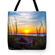 Navarre Fl Sunset 2014 07 29 A Tote Bag
