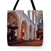 Nave Of The Church Of Our Lady Tote Bag
