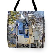 Navel  Gun Loders Eye View Tote Bag
