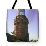 Navesink Twin Lights Lighthouse Tote Bag