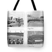 Navin Field Briggs Tiger Stadium Comerica Park Tote Bag