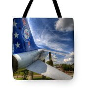 Navy A-7 Fighter Static Display Tote Bag