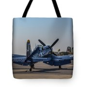 Navy Corsair Tote Bag