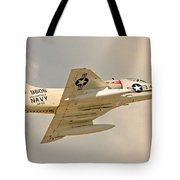 Navy In The House  Tote Bag
