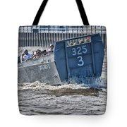Navy Landing Craft 325 Tote Bag