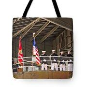 Navy Men Tote Bag