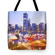 Navy Pier Chicago Il Tote Bag