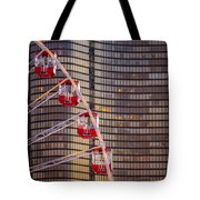 Navy Pier Wheel Chicago Tote Bag