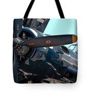 Navy Props Tote Bag