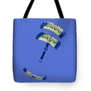 Navy Seals Leap Frogs One Upside Down Tote Bag
