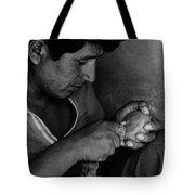 Nazca Stone Cutter Tote Bag