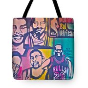 Nba Nuthin' But Africans Tote Bag