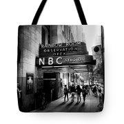Nbc Studios Tote Bag