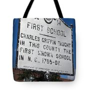 Nc-a14 First School Tote Bag