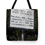 Nc-a37 Elizabeth City State University Tote Bag