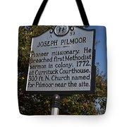Nc-a59 Joseph Pilmoor Tote Bag