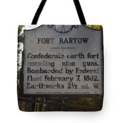 Nc-bbb2 Fort Bartow Tote Bag