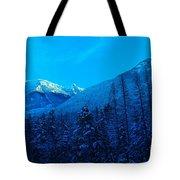 Near Fernie British Columbia  Tote Bag