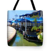 Near The Harbour Tote Bag