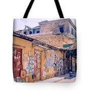 Near The Monastiraki In Greece Tote Bag