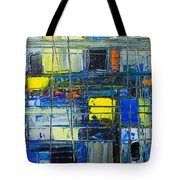 Near The Sunrise - Abstract Original Painting - Abwgc1 Tote Bag