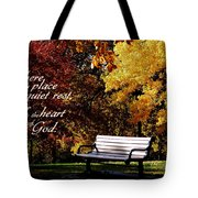 Near To The Heart Of God Tote Bag