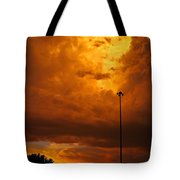 Nebraska Fire Tote Bag