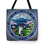 Nebraska State Seal Tote Bag