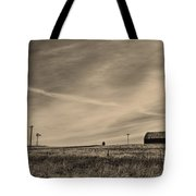 An Abandoned Nebraska Barn Tote Bag