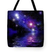 Nebula Reflection Tote Bag