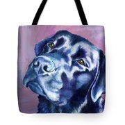 Need Help With That? Black Lab Tote Bag