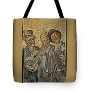 Needlepainting Musicians Tote Bag