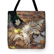 Needles And Leaves Tote Bag