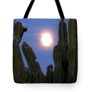 Needles Around The Moon Tote Bag