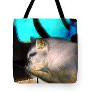 Negative Cat Tote Bag