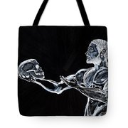 Negative Thoughts Tote Bag by Edward Fuller
