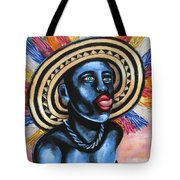 Negrito In Carnival 2 Tote Bag