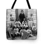Negro Baseball Tote Bag
