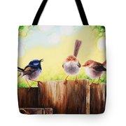Neighbourhood Gossip Tote Bag