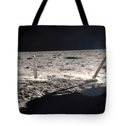 Neil Armstrong On The Moon - 1969 Tote Bag