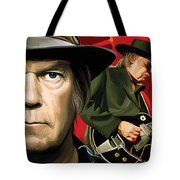 Neil Young Artwork Tote Bag